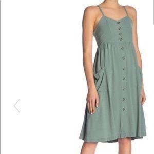 GOOD LUCK GEM turquoise dress